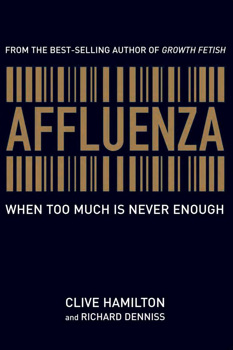 essay on affluenza Affluenza is an epidemic which effects millions of people in the united states until this century [20th], to consume was considered a bad thing says.